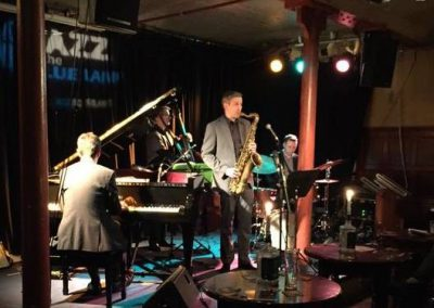 Dave O'Higgins Quartet at Aberdeen Blue Lamp Jazz Club