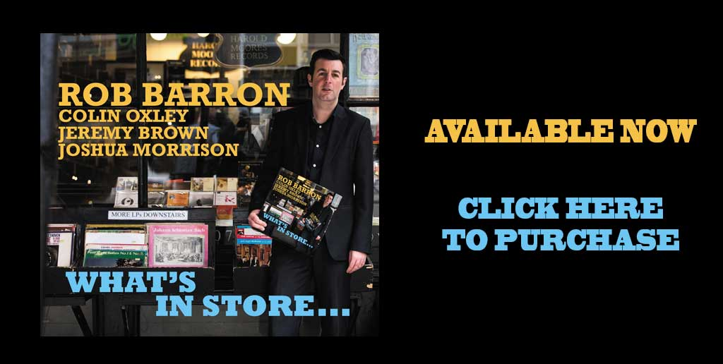 "Rob Barron Quarter ""What's In Store"" Available now to buy"