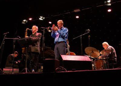 With Dick Pearce and Mornington Lockett at Herts Jazz
